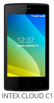 Intex Cloud C1 price image