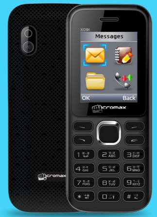 Micromax X091 price in India pic