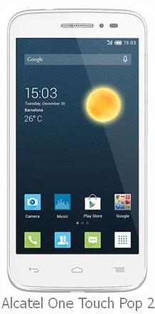 Alcatel One Touch Pop 2 price in India pic