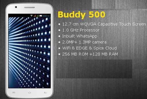 Spice Buddy 500 price in India pic