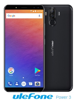 Ulefone Power 3 price information pic