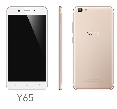 Vivo Y65 price new India pic