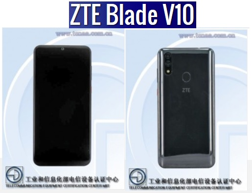 ZTE Blade V10 smartphone with price pic